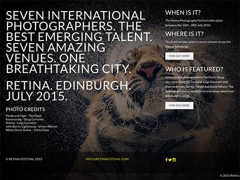 Retina home page